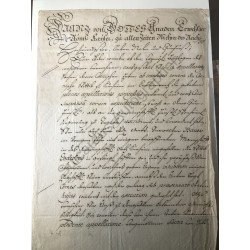 Wien, 24. Juli 1747 - Brief...