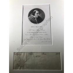 1817 - Brieffragment mit...