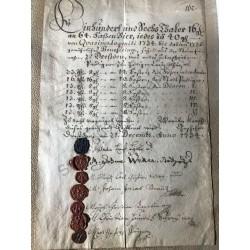 Dresden, 21. Dezember 1734...