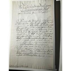 Erfurt, 9. Januar 1801 -...