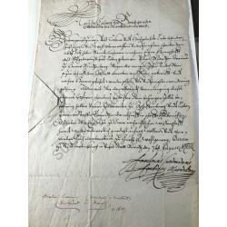 Mainz, 7. August 1638 -...