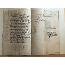 Mainz, 15.09.1637 - Brief...