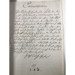 Mainz, 7. Dezember 1775 -...