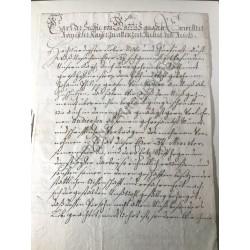 Wien, 2. März 1718 - Brief...
