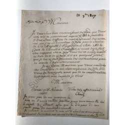 Paris, 28. November 1807 -...