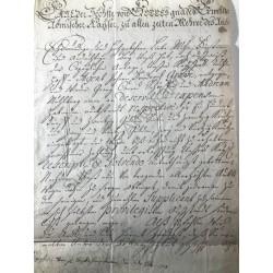 Wien, 6. November 1727 -...