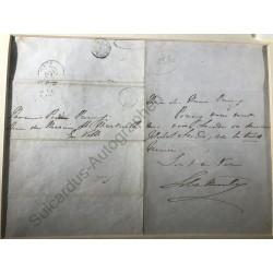 Paris 1846 - Eigenhändiger...