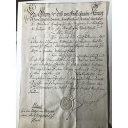 St. James, 3. Dezember 1762...