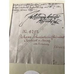 Aschaffenburg, 16.02.1619 -...