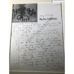 Big Sur CA, 7. Juli 1949 -...