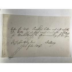Aschaffenburg, 21.02.1805 -...