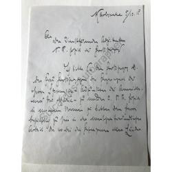 Karlsruhe 1915 - Brief mit...