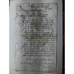 Köln, 24. Mai 1633 - Brief...
