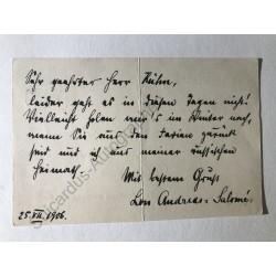 Göttingen, 25. Juli 1906 -...