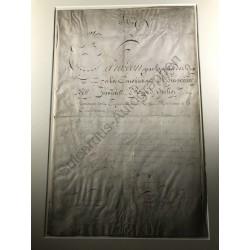 Paris, 20. März 1810 Brief...