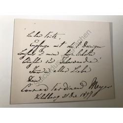 Kilchberg, 31.12.1897,...