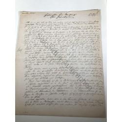 München | 04.09.1889, Brief...