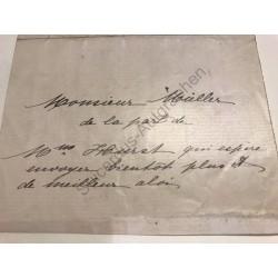 Genf | 1849?, Abschrift von...