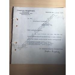 München | 05.07.1927, Brief...