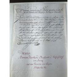 Mainz, 25. August 1676 -...