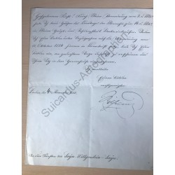Berlin | 04.11.1882, Brief...