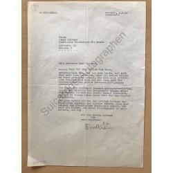 München | 02.06.1960, Brief...