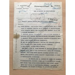 Rom | 03.11.1923, Brief mit...