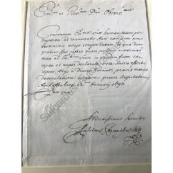 Aschaffenburg, 12. 01.1693...