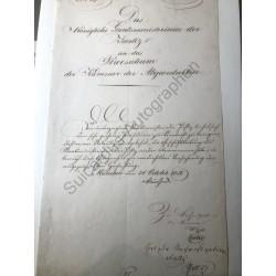 München, 31.10.1851 - Brief...