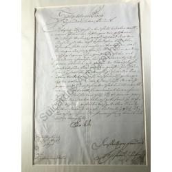 Aschaffenburg, 19. 08.1698...