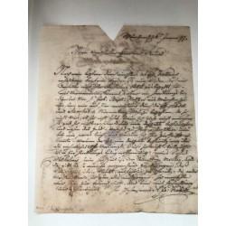 München, 26.01.1797,...